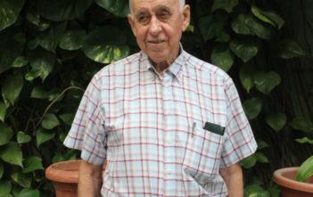 Aos79 anos Adelio Viegas formou-se em direito