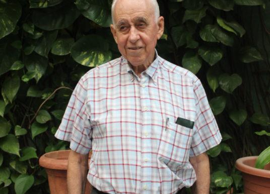 Aos79 anos Adelio Viegas formou-se em direito na Universidade Metodista de Angola