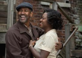 Denzel Washington e Viola Davis juntos em 'Fences', filme com cheiro de Oscars