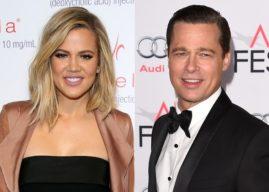 Khloé Kardashian revela queda por Pitt uma semana após separação de Angelina