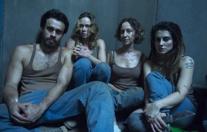 Sabrina ( Cléo Pires ), Sérgio ( Erom Cordeiro ), Bruna ( Mariana Ximenes ) e Diana ( Fabiana Gugli )