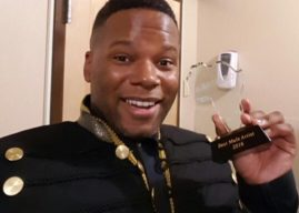 "Coréon Dú vence prémio de ""Melhor Artista Masculino"" nos África Entertainment Awards 2016"