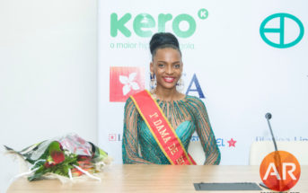 Eliana Mungojo 1ª dama de honor Miss Angola 2017