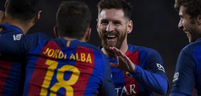 Em jogo de louco, talento Messi faz a diferença e Barça vence Real