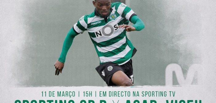 Gelson faz manchete no lançamento do jogo do Sporting B frente ao Viseu