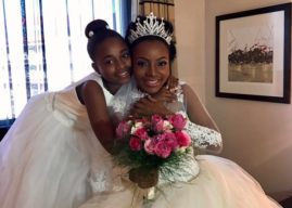 """""""Março Mulher nunca foi tão lindo como em 2017""""- diz Lukénya Gomes ainda emocionada com seu casamento"""