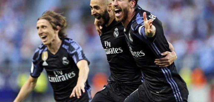 Real Madrid vence Málaga e leva o 33.º título de campeão espanhol