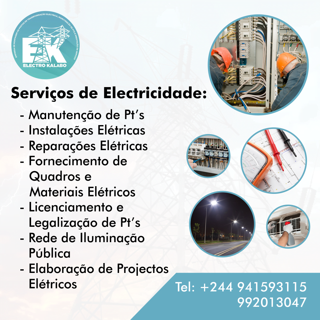 Divulgação de Serviços (Electro Kalabo)