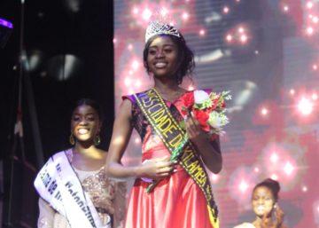 """Dália Xirimbimbi é a mulher mais bela da Centralidade do Kilamba """"Miss Kilamba 2018"""""""