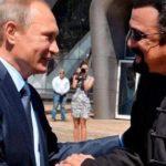 Steven Seagal nomeado como representante especial da Rússia