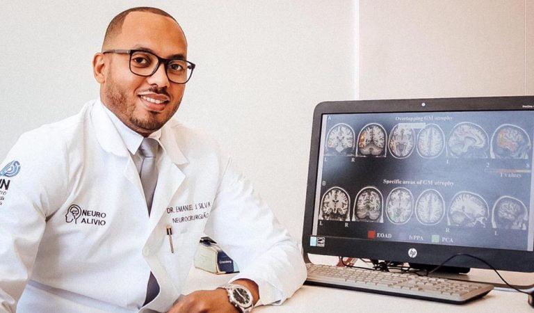 Angolano Emanuel Silva de 31 anos, é o único Neurocirurgião na Huíla