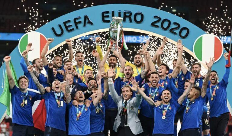 Seleção Italiana de Futebol sagra-se campeã europeia após 53 anos