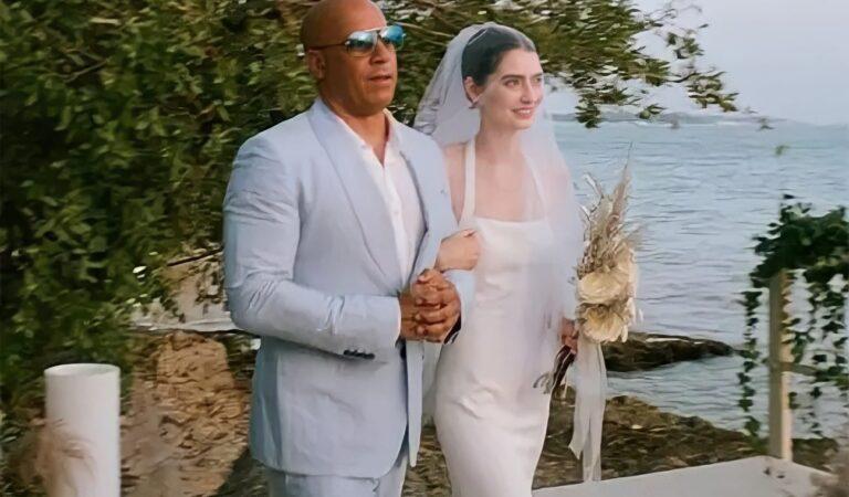 Vin Diesel acompanha filha de Paul Walker ao altar
